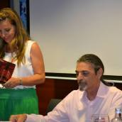 Con Elena Merino, Madrid, 19 de julio de 2014