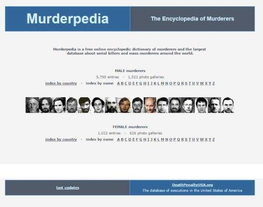 Murderpedia Home